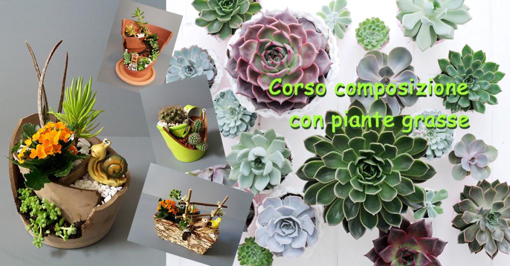 Corso composizione piante grasse Serravalle Sesia Bornate