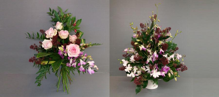 spesso Composizioni di fiori freschi recisi Decorazioni floreali BB11
