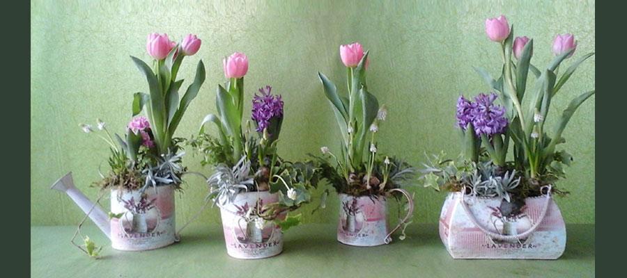 abbastanza Composizioni di fiori freschi recisi Decorazioni floreali UE67