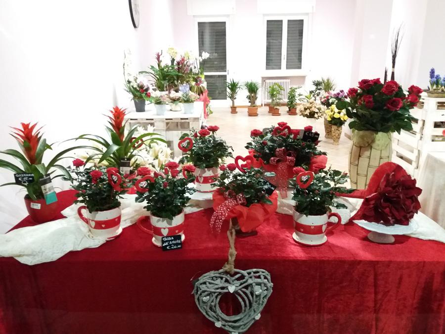 San Valentino Arte Floreale Fiorista Bornate