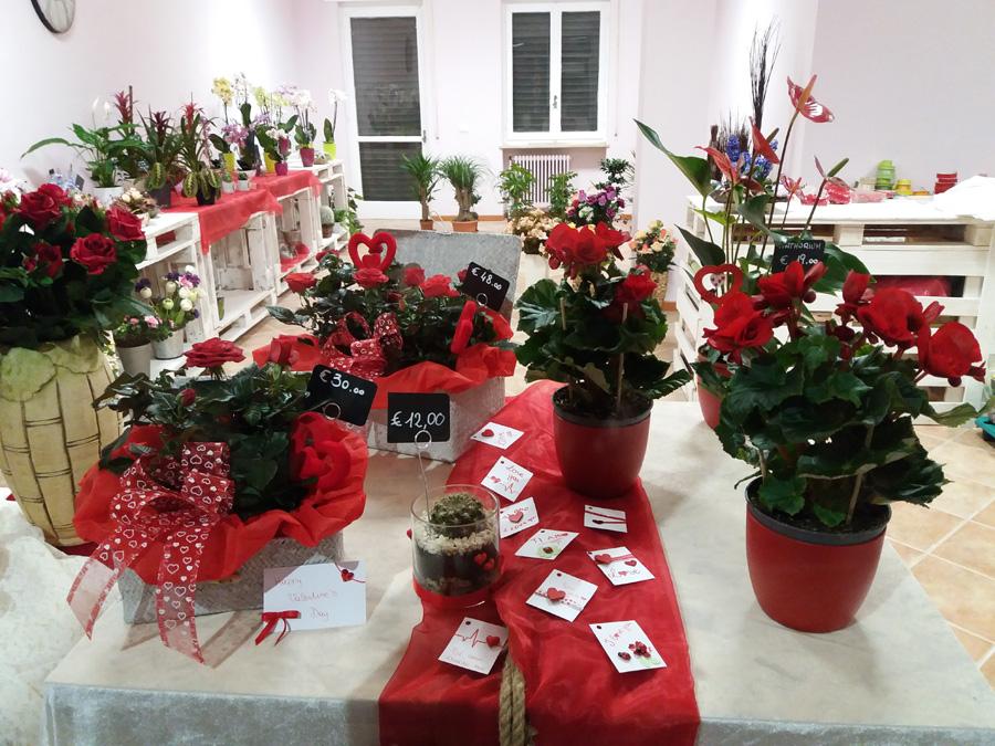 San Valentino da Arte Floreale Fiorista Bornate